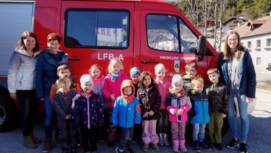 Feuerwehr hautnah erleben…