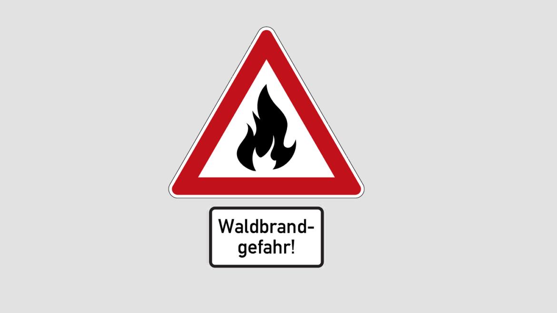 ACHTUNG Waldbrandgefahr