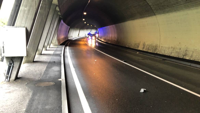 Verkehrsunfall Unterflurtrasse Nassereith