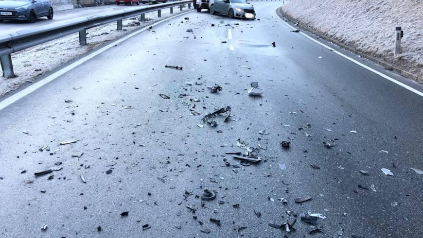 Verkehrsunfall B189 Mieminger Bundesstraße