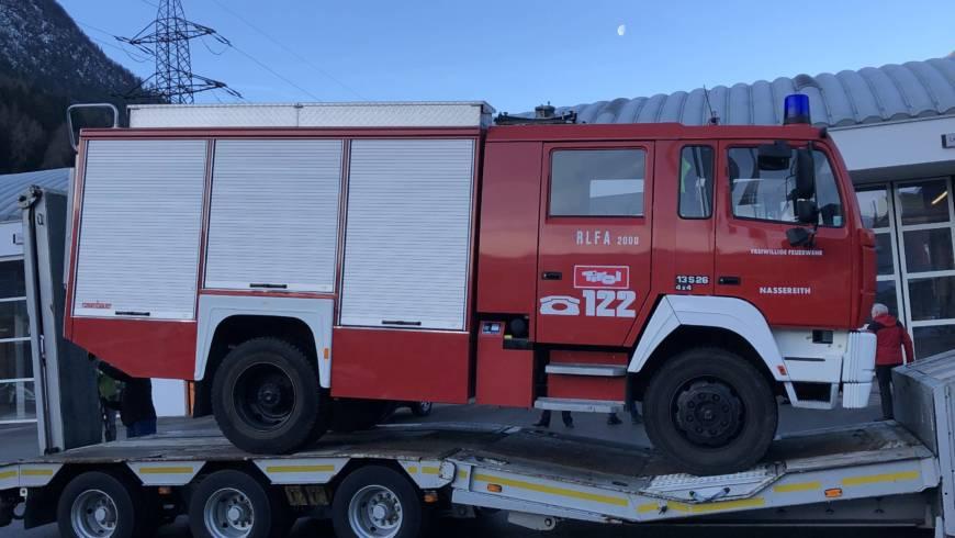 Übergabe RLF – A 2000 an die Feuerwehr Razanac/Kroatien