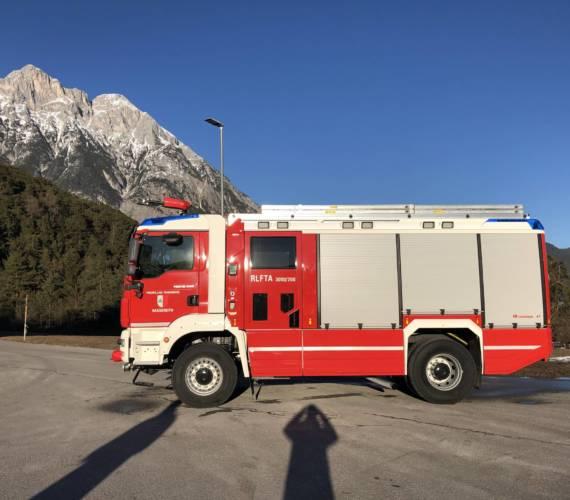 Feuerwehr Nassereith Fuhrpark