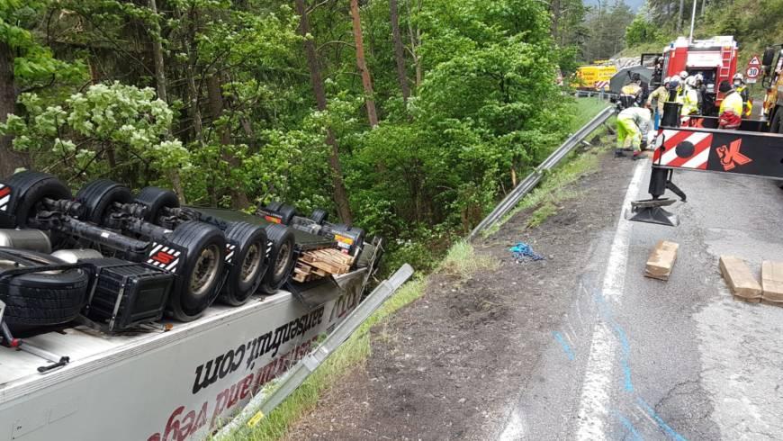 Verkehrsunfall B179 Fernpassbundesstraße