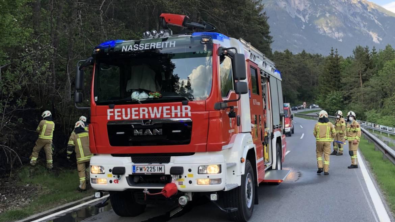 Wiesenbrand an der Mieminger-Bundesstraße