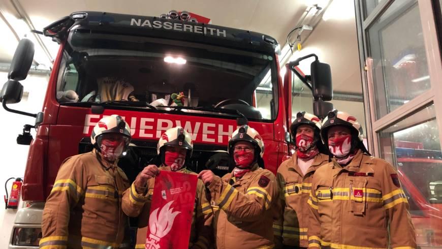 Schlauchschals für die Feuerwehr Nassereith