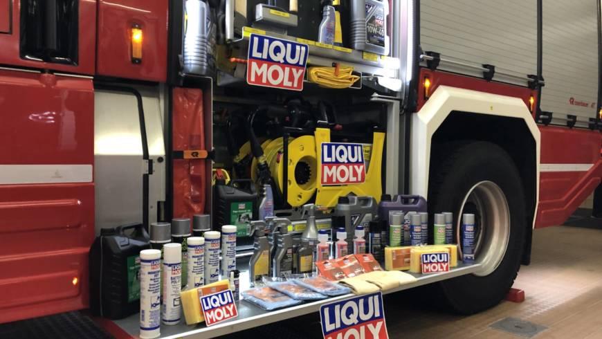 Feuerwehrspende LIQUI MOLY – wir sagen DANKE