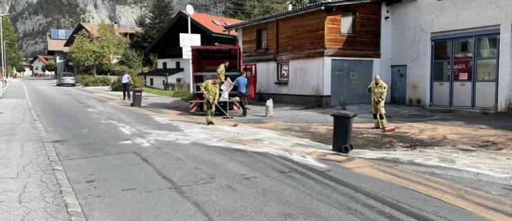 Hydraulikölaustritt